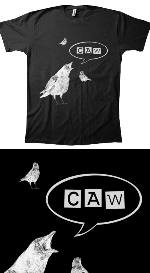 Halloween-Tee-crow